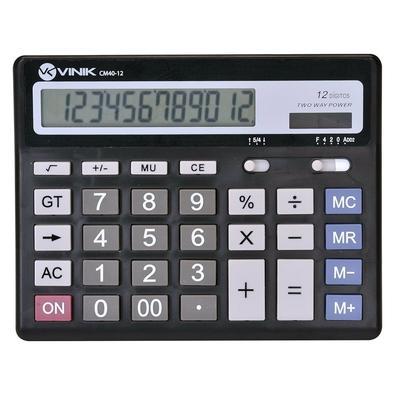 Calculadora de Mesa Vinik 12 Dígitos CM40 - 26089 Preta