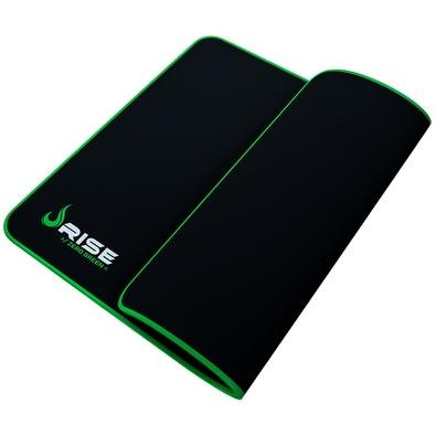 Mousepad Gamer Rise 290x210x3mm Médio com Costura Zero Verde - RG-MP-04-ZG