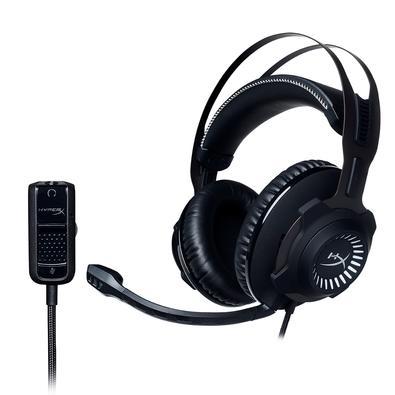 Headset Gamer HyperX Cloud Revolver - HX-HSCR-GM - Preto/Cinza