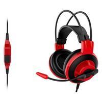 (Brinde) Headset Gamer MSI Preto e Vermelho DS50