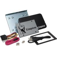 SSD Kingston UV500, 240GB, SATA, Leitura 520MB/s, Gravação 500MB/s, Kit Upgrade - SUV500B/240G