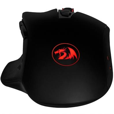 Mouse Gamer Redragon Gainer, LED, 6 Botões, 3200DPI - M610