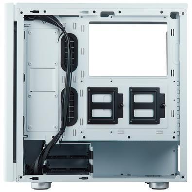 Gabinete Corsair Gamer Carbide 275R Branco com Lateral em Vidro Temperado - CC-9011133-WW