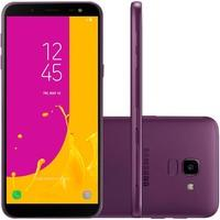 Smartphone Samsung Galaxy J6, 64GB, 13MP, Tela 5.6´, TV Digital, Violeta - SM-J600GT