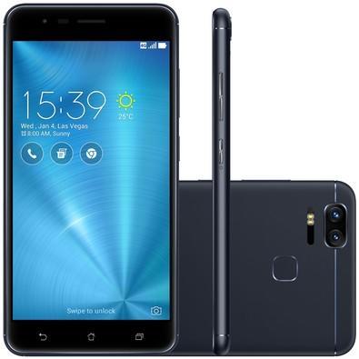 Smartphone Asus Zenfone Zoom S, 32GB, 12MP, Tela 5.5´, Preto - ZE553KL-3A072BR