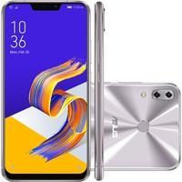 Smartphone Asus Zenfone 5Z, 128GB, 12MP, Tela 6.2´, Prata - ZS620KL-2H075BR