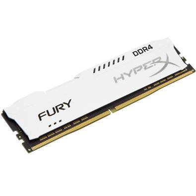 Memória HyperX Fury, 16GB, 3466MHz, DDR4, CL19, Branco - HX434C19FW/16