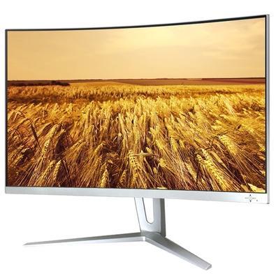 Monitor Gamer Gamemax LED 27´ Widescreen Curvo, Full HD, HDMI/DVI/Display Port, FreeSync, Som Integrado, 144Hz, 1ms, Branco - GMX27C144W