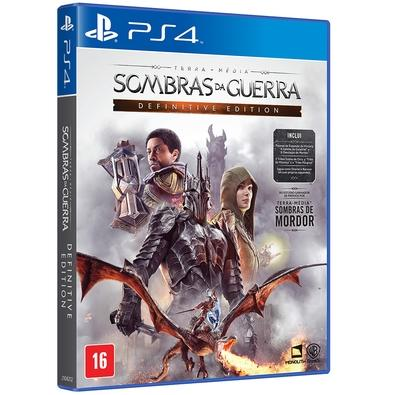Game Sombras da Guerra Definitive Edition PS4