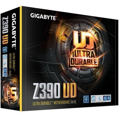 Placa-Mãe Gigabyte Z390 UD, Intel LGA 1151, ATX, DDR4