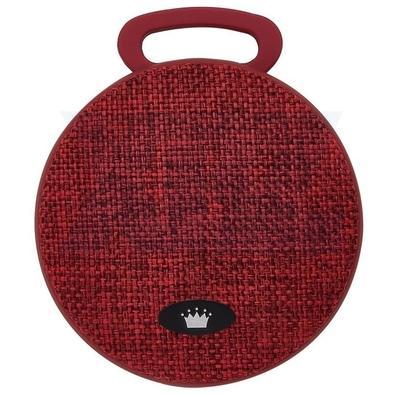 Caixa de Som Kimaster Bluetooth, 3W - Vermelha