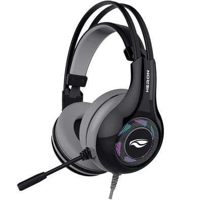Headset Gamer C3 Tech Heron 2 7.1, USB, Preto - PH-G701BKV2