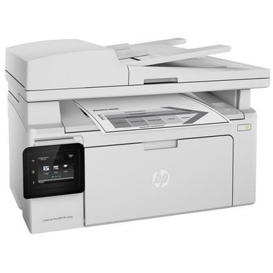 Impressora HP Multifuncional Laserjet Pro, Monocromática, USB, Rede, Wifi, 110V - M132FW