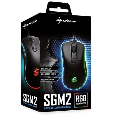 Mouse Gamer Sharkoon Skiller SGM2