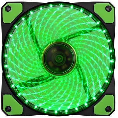 Cooler Fan Gamemax Galeforce 32 LED, 12cm, Verde - GF12G