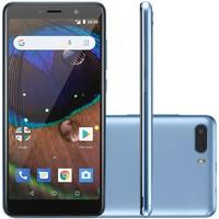 Smartphone Multilaser MS50X, 16GB, 8MP, Tela 5.5´, Azul - P9075