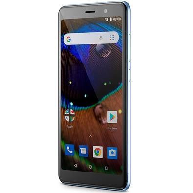 Smartphone Multilaser MS50X, 16GB, 8MP, Tela 5.5´, Azul - P9075