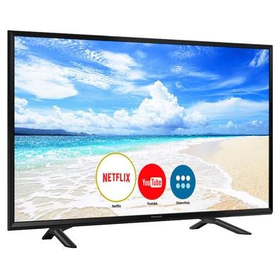 Smart TV LED 40´ Full HD Panasonic, Conversor Digital, 2 HDMI, 1 USB, Bluetooth, Wi-Fi - TC-40FS600B