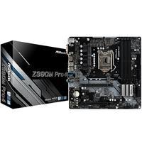Placa-Mãe ASRock Z390M Pro4, Intel LGA 1151, mATX, DDR4