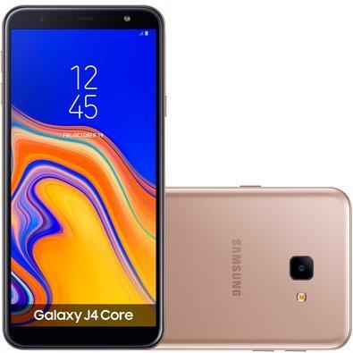 Smartphone Samsung Galaxy J4 Core, 16GB, 8MP, Tela 6´, Cobre - SM-J410G/16DL