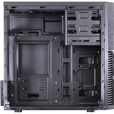 Gabinete Gamer PCYes Mercury sem Fonte, Mid Tower, USB 3.0, 1 Fan LED Vermelho, Preto com Lateral em Acrílico - MRCPTVM1FCA
