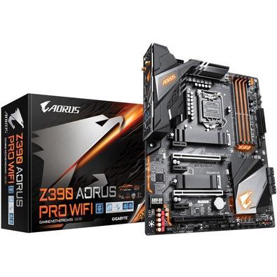 Placa-Mãe Gigabyte Z390 Aorus Pro Wi-Fi, Intel LGA 1151, ATX, DDR4