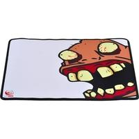 Mousepad Gamer PCYes Huebr, Speed, Médio (360x300mm) Branco - HBS36X30