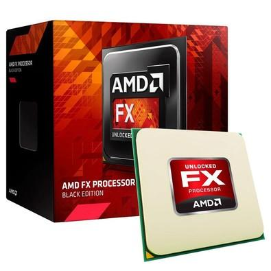 Processador AMD FX 8300 Black, Cache 16MB, 3.3GHz (4.2GHz Max Turbo), AM3+, Sem Vídeo - FD8300WMHKSBX