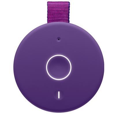 Caixa de Som Bluetooth Ultimate Ears MEGABOOM 3 Portátil e À Prova D´Água - Até 20 horas de Bateria - Roxa - 984-001399