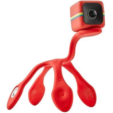 Suporte de Câmera Polaroid, Cube, Flexipod, Vermelho - POLPOD