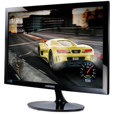 Monitor Gamer Samsung LED 24´ Widescreen, Full HD, HDMI/VGA, 1ms - LS24D332HSXZD