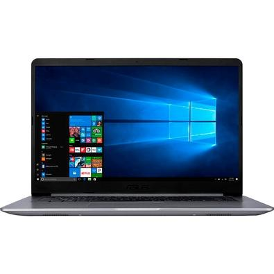 Notebook Asus VivoBook, Intel Core i5-7200U, 4GB, 1000GB, Windows 10 Home, 15.6´, Cinza - X510UA-BR539T