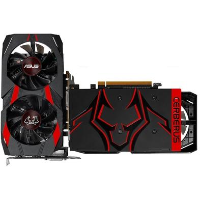Placa de Vídeo Asus NVIDIA GeForce GTX 1050 Advanced Cerberus 2GB, GDDR5 - CERBERUS-GTX1050-A2G
