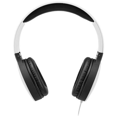 Headphone Multilaser New Fun Wired, P2, Branco - PH269