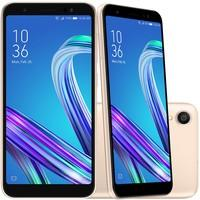 Smartphone Asus Zenfone Live L1 QuadCore, 32GB, 13MP, Tela 5.5´, Gold - ZA550KL-4G142BR