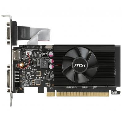 Placa de Vídeo MSI NVIDIA GeForce GT 710 2GD3 LP 2GB, DDR3