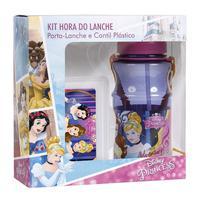 Kit Cantil Escolar + Porta Lanche Princesas Dermiwil