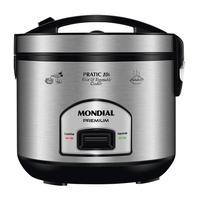 Panela Elétrica Mondial Pratic Rice 10i, 127V, 10 Xícaras - PE-42-10X