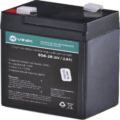 Bateria 6V 2,8A Selada Vlca Bs6-28 Bateria 6V 2.8A Selada Vlca Bs6-28