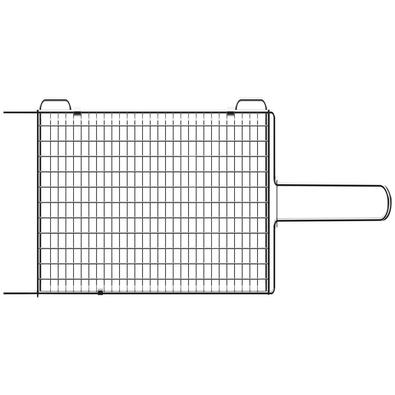 Grelha Tramontina Churrasco em Aço Inox 76 x 18,1 cm Tramontina