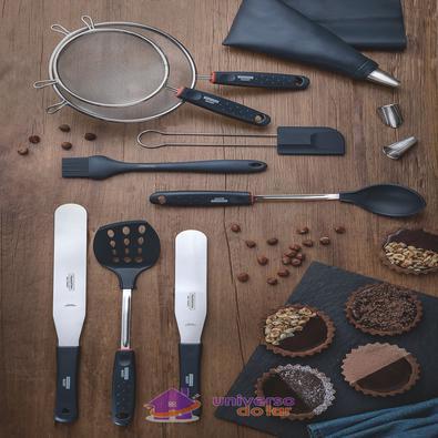 Espátula Tramontina Bakery em Nylon com Haste Aço em Inox Tramontina