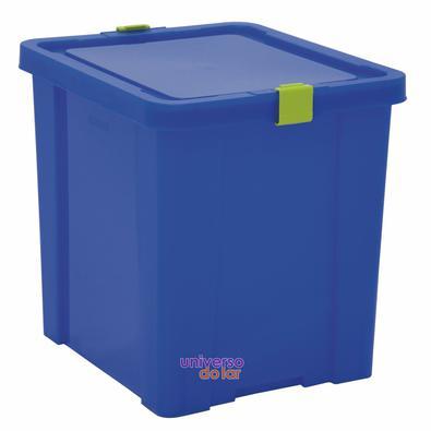 Caixa Organizadora 42L Basic Azul