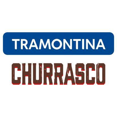 Grelha Tramontina em Aço Inox com Cabo de Madeira 83,5 x 55 cm Tramontina