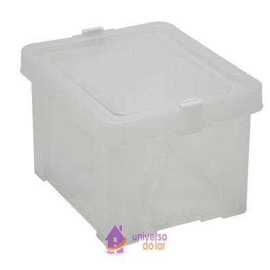 Caixa Organizadora 17L Transparente Basic Tramontina