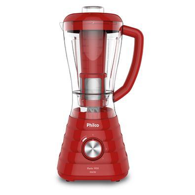 Liquidificador Philco Paris 900 Vermelho 900W 127V