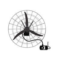 Ventilador de Parede 1 Metro Com 3 velocidades Ventisol