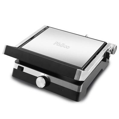 Grill Master Press Philco Inox Design PGR04PI Chapa 180º 220V