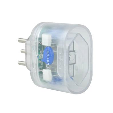 DPS iClamper Pocket, 3 Pinos, 10A, Portátil, Transparente