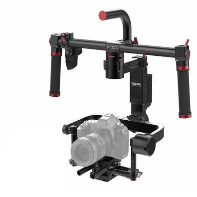 Estabilizador, Moza, Gimbal, Eletrônico, Lite 2 com 3 Eixos para DSLR e Mirrorless (Kit Profissional)