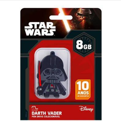 Pen Drive Multilaser Darth Vader, 8GB - PD035